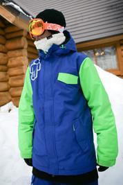 [롬프 7 마켓] 2014 180 스위치 자켓 (그린&블루)