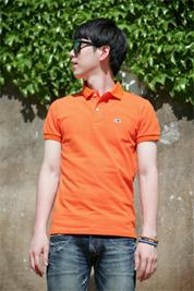 [롬프 스트릿웨어] PK셔츠 (오렌지)