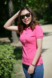 [롬프 스트릿웨어] PK셔츠-여 (핑크)