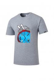 [롬프스트릿웨어] Agenda T-Shirt (SKY BLUE)