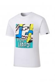 [롬프스트릿웨어] Beat T-Shirt (WHITE)