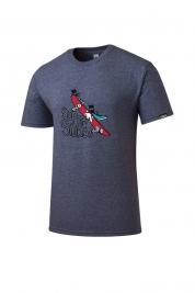 [롬프스트릿웨어] Ollie T-Shirt (DARK PURPLE)